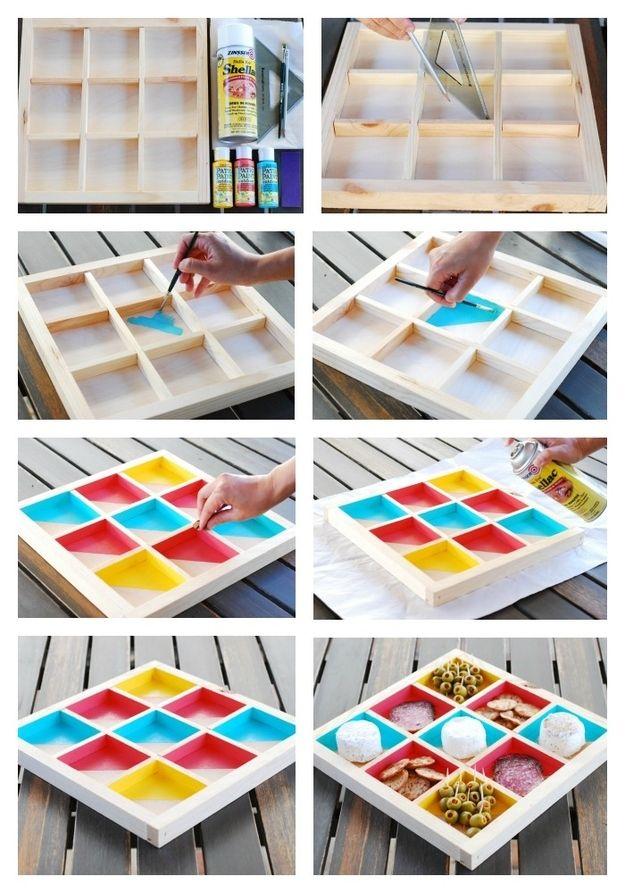 DIY Bento Box Cheeseboard