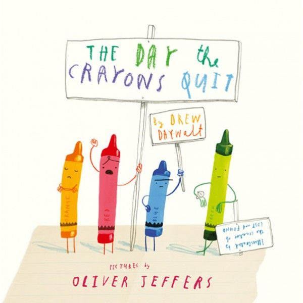 The Day the Crayons Quit by Drew Daywalt and Oliver Jeffers.  Imagine if your crayons had big personalities and decided to speak out in protest. This book is laugh out loud funny. Perfect for children who love to draw or laugh! This is a long story with a page of text per colour, so we recommend for ages 5+ AUD $24.99