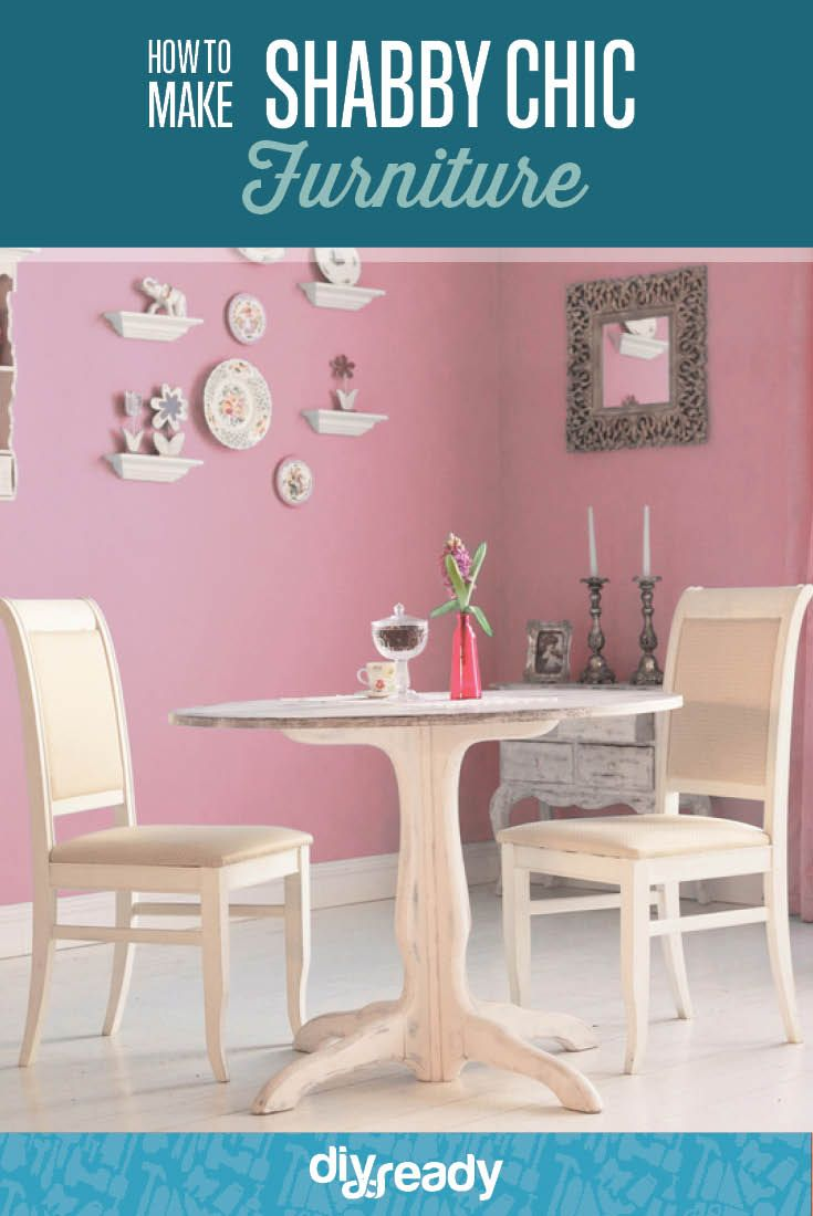 Shabby chic painted furniture - How To Paint Furniture Shabby Chic