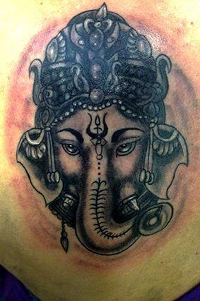 Ganesha,tattoo