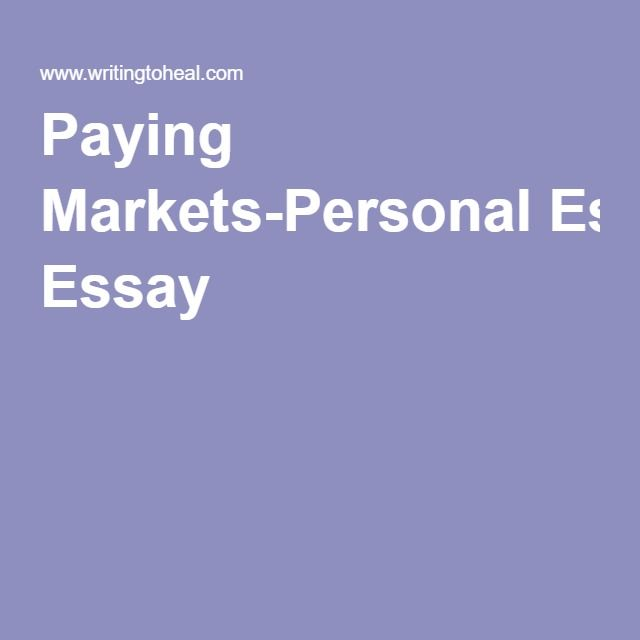 well written personal essays submissions