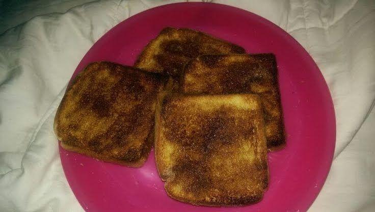 """Cinnamon Toast! """"""""  @allthecooks #recipe #breakfast #bread #cinnamon #easy"""