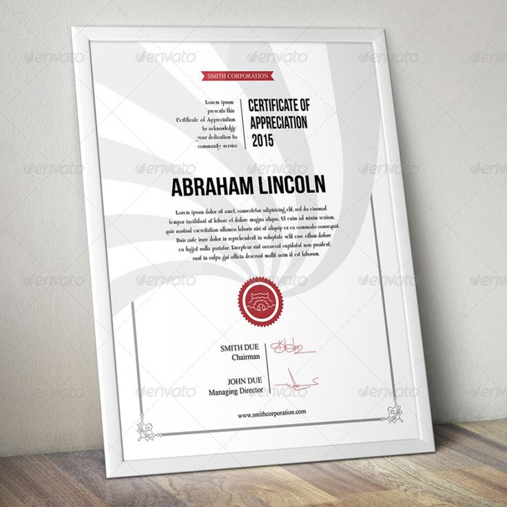 15 best certificate of appreciation template psd ai pdf