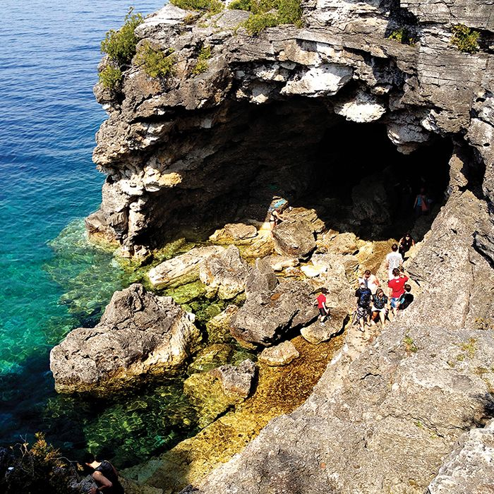 We're so lucky to live surrounded by some of the most stunning scenery on the planet. Here are six stunning adventure parks in Canada.  Includes one of my favourites spots - the grotto in the Bruce Peninsula Park.