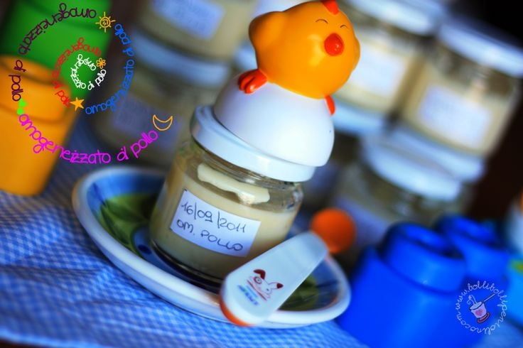 Bolli bolli pentolino: Svezzamento: omogeneizzati di pollo e di tacchino