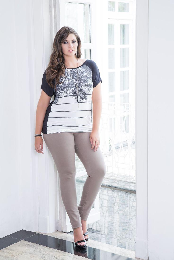 Marca de vestuário feminino até o GG3 Coleção Primavera Verão 2016 www.mirasul.com.br