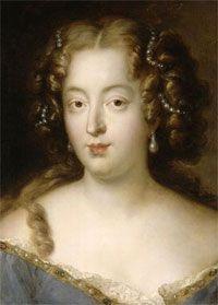 Louise de La Vallière (1644-1710), una jove bella y elegante de ojos azules que se enamoró sinceramente de un rey que la utilizó para legitimar sus múltiples amorios. Cansada de ser vilipendiada por el Rey Sol, terminó dedicando sus días a la oración.