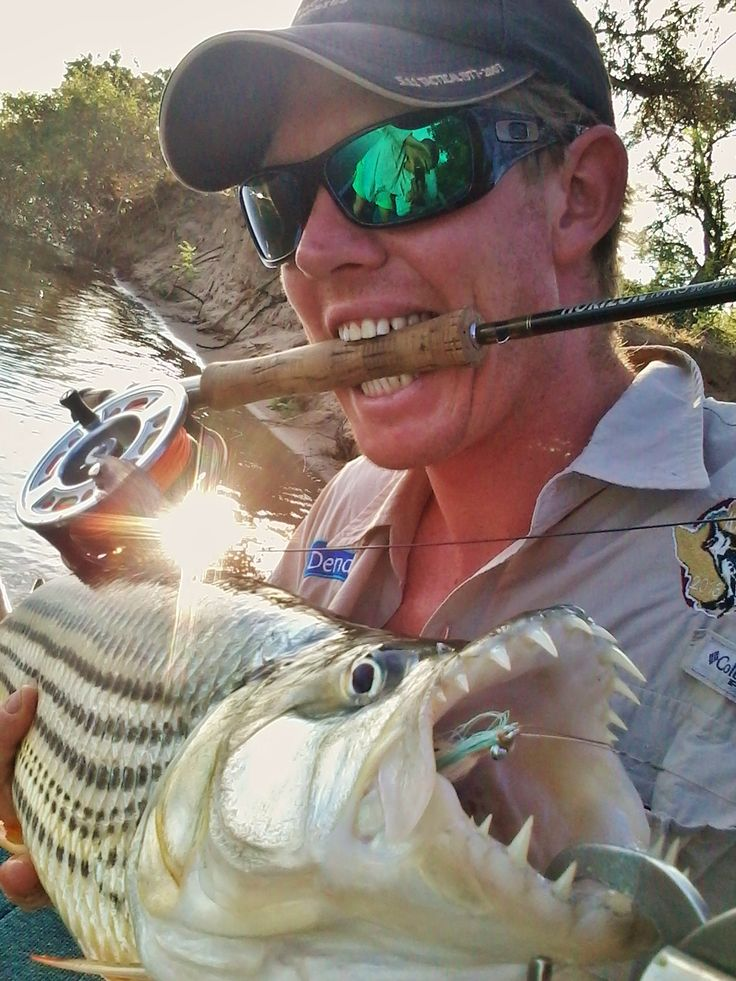 Fly Fishing for the mighty Tiger Fish!