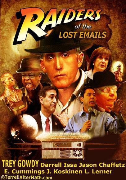 Raiders of the Lost Emails.Starring:Trey Gowdy!