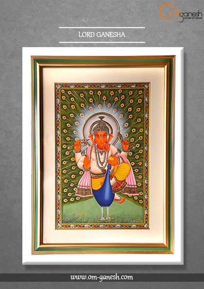 Ganesha, The Lord with the curved trunk and a mighty body, the one who has the lustre of a million suns, the remove the obstacles, we pray to thee.