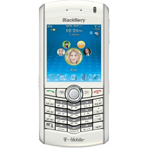 BlackBerry Pearl 8100 Phone White TMobile * Learn more by visiting the image link to Amazon.com