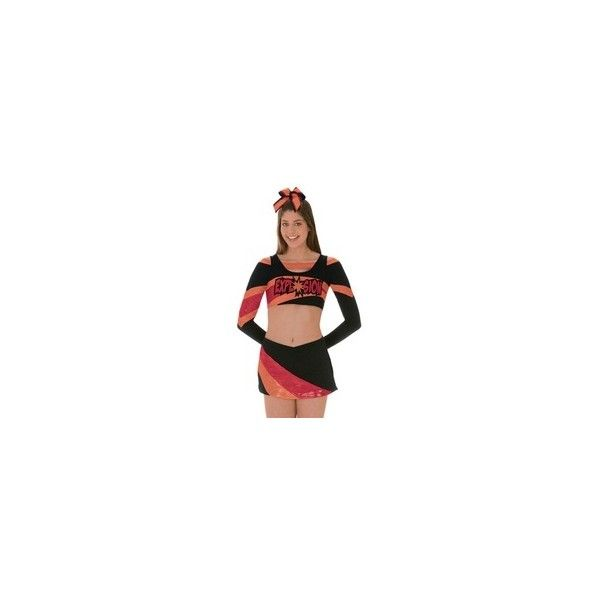 All-Star Uniform by Cheerleading Company Cheer uniforms ❤ liked on Polyvore featuring cheer - dance