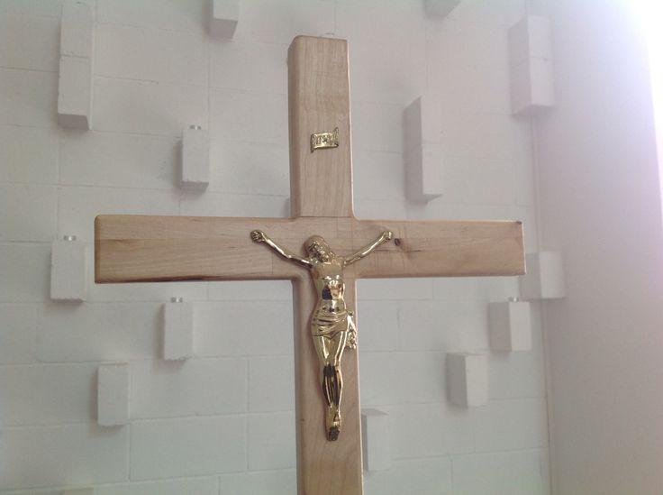 Viimsi Lutheran Church, Viimsi/Tallinn, Estonia. Jesus Christ crucified.  Viimsi luterlik kirik. Viimsin luterilainen kirkko.