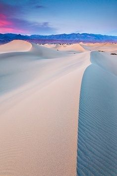Imperial Sand Dunes in Southern California