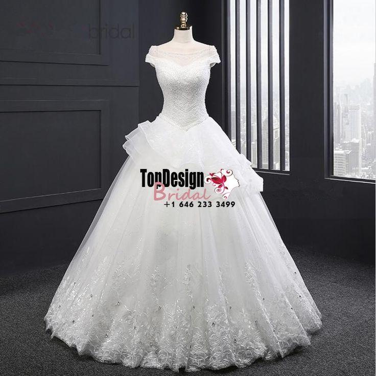 Wholesale Vestido De Novia Off Shoulder Wedding DressLace Applique Bridal Gown