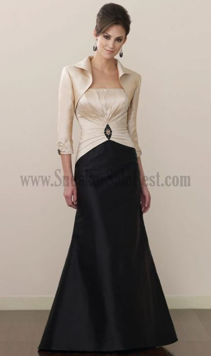 Dresses For Mother Of The Bride Mermaid Sleeveless 34 Length Sleeves Floor Length For Sale Wedding Party Dresses