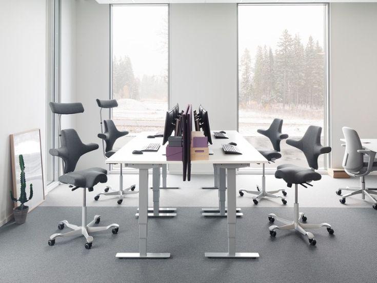 HÅG Capisco brings the nordic feel! #Scandinavian #design #office #InspireGreatWork
