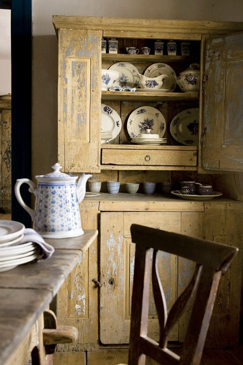 Country kitchen inspiration image via for Country kitchen inspiration