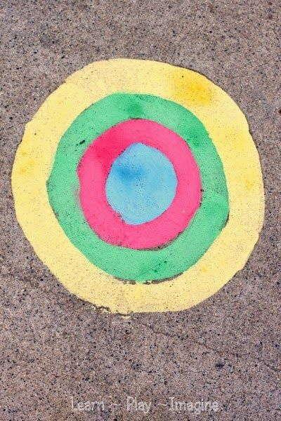 17 best images about kids chalk paint on pinterest chalk for Bright vibrant colors