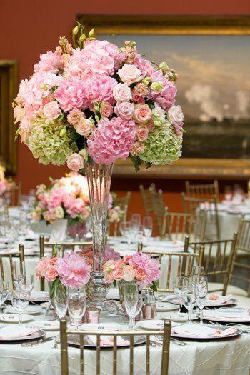 Ber ideen zu rosa hortensien hochzeit auf for Selbstgemachte hochzeitsdeko