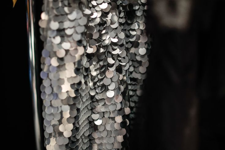 #sequins #silver #fashionshow #sparkle #NARCES #jumpsuit #estelle