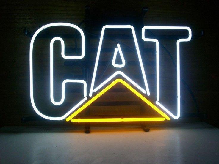 Caterpillar Cat Neon Sign