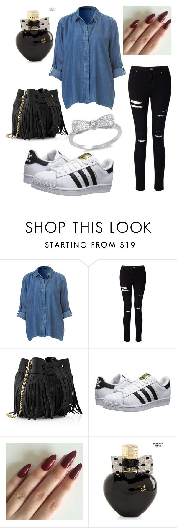 """casual saturday"" by crazisuki on Polyvore featuring Miss Selfridge, Whistles, adidas Originals and Aéropostale"