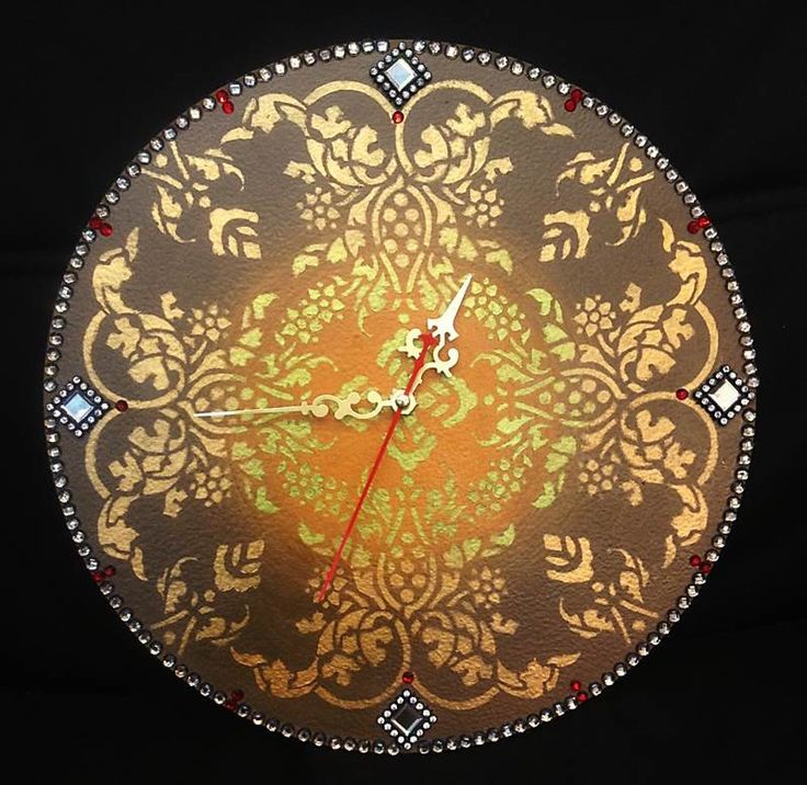 Ornamental Clock for your Home Warmth, Home warming gift, Wall Kitchen Clocks, Wall clock, Unique gift, Unique wall clocks, Kitchen decor by DOSHE on Etsy