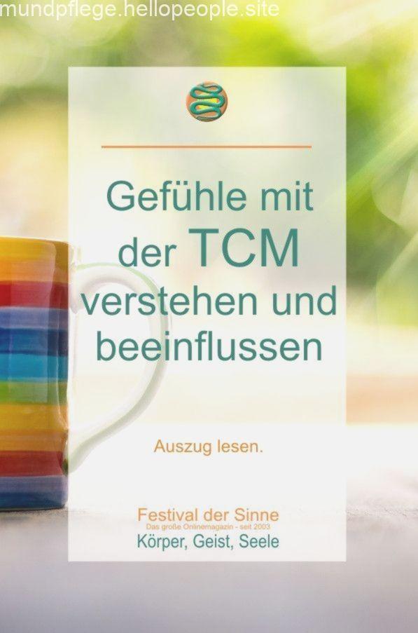 Mit der #TCM können wir unsere #Gefühle #verstehen und #