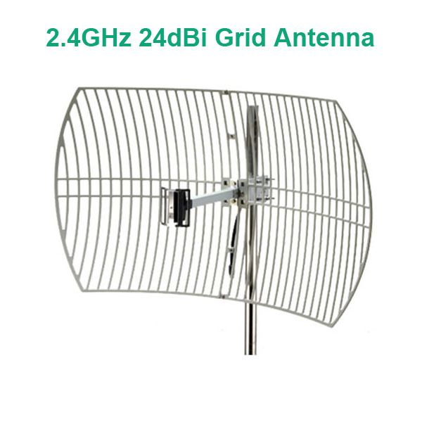 24dBi 2.4GHz Wireless Wifi Grid Antenna Parabolic