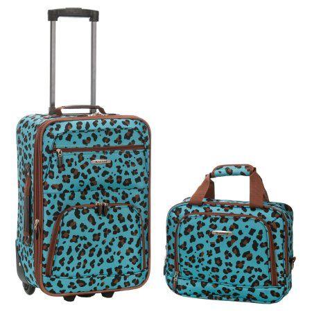Rockland Rio 2-Piece Luggage Set, Multicolor