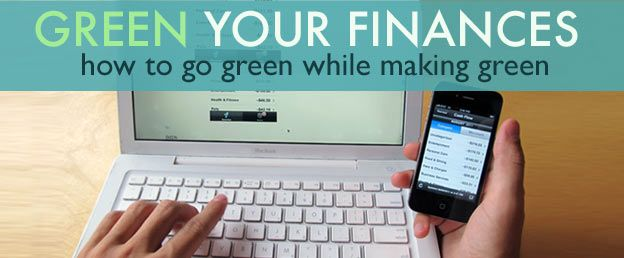 Best Ways to Green Your Finances & Go Paperless