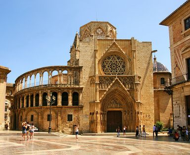 Catedral. Valencia. Spain.