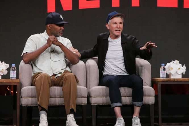 "Creators and stars of such shows as ""Stranger Things,"" ""Gilmore Girls: A Year in the Life,"" ""The Get Down,"" ""Black Mirror"" and more talked about their shows during Netflix's day at the 2016 TV Summer Press Tour in Beverly Hills."