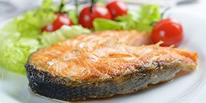 Salmon with Roasted Cherry Tomatoes   Canadian Diabetes Association