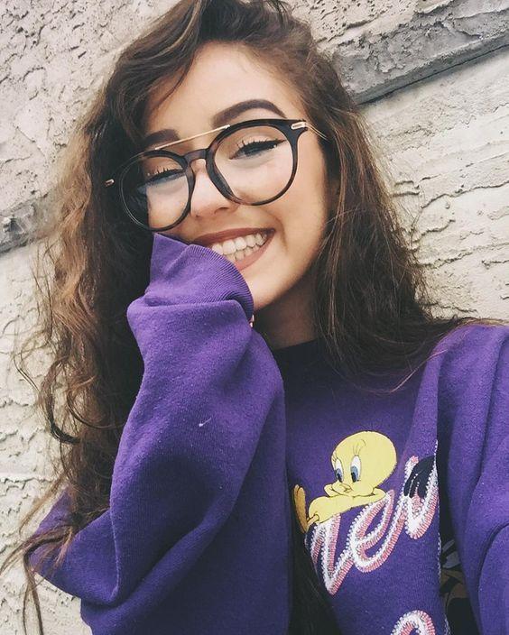 Selfies que te harán sentir segura y bella con lentes
