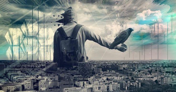 La città empatica.Immagine «CC0 Creative Commons»: https://pixabay.com/it/design-citt%C3%A0-uomo-astratto-arte-2326066/