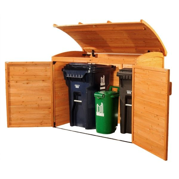 Horizontal Refuse Storage Shed 15445050 Ping S On Outdoor In 2018 Pinterest