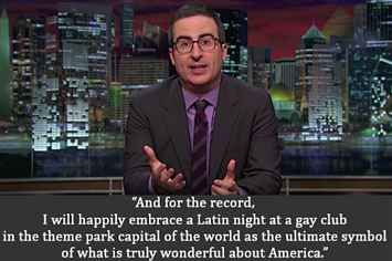 "John Oliver On The Shooting In Orlando: ""Right Now, This Just Hurts"""