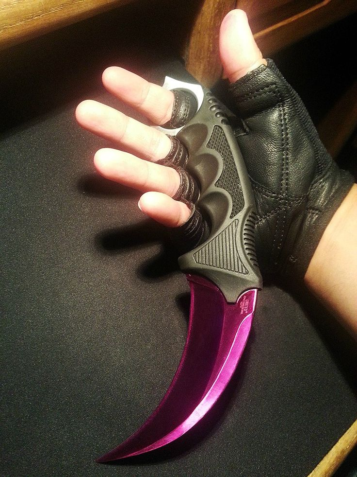 Why pay so much for the Karambit Fade in game, when you can have the real thing? Description from imgur.com. I searched for this on bing.com/images