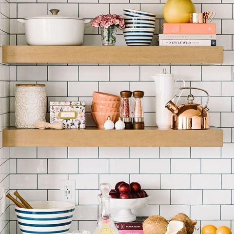 Our version of a well-curated kitchen.  If you're in need of a wedding gift, ideas for your registry, or simply a kitchen refresh, check out our list of recommended tools and equipment to keep you happily cooking and entertaining. Find it in Dote Weddings Volume 1. photo by: @sarahvaughan / styling by: @alexandrajoywig for @dotemagazine. #doteweddings