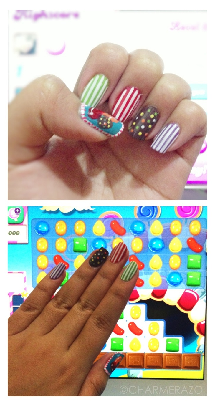Delicious Nail Designs: 17 Best Images About Kerry Bday Candy Crush Obsession On