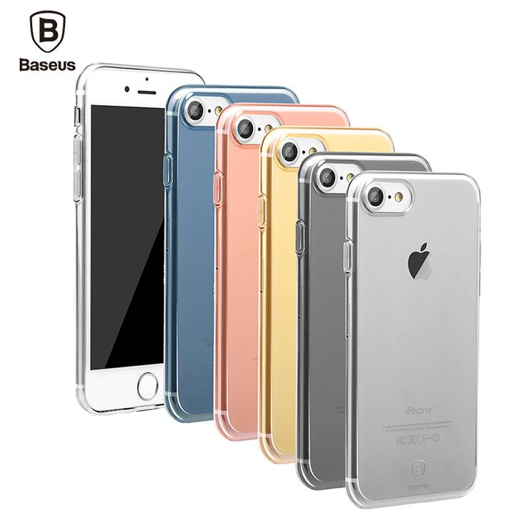 Find More Phone Bags & Cases Information about Baseus Case For iPhone 7 7 Plus Case Cover 4.7/5.5 inch Ultra Thin Transparent Soft TPU High Quality Anti Shock Protective Shell,High Quality case rifle,China case for htc evo 4g Suppliers, Cheap case for htc incredible s from Ranshine (HK) Technology Co., Ltd. on Aliexpress.com