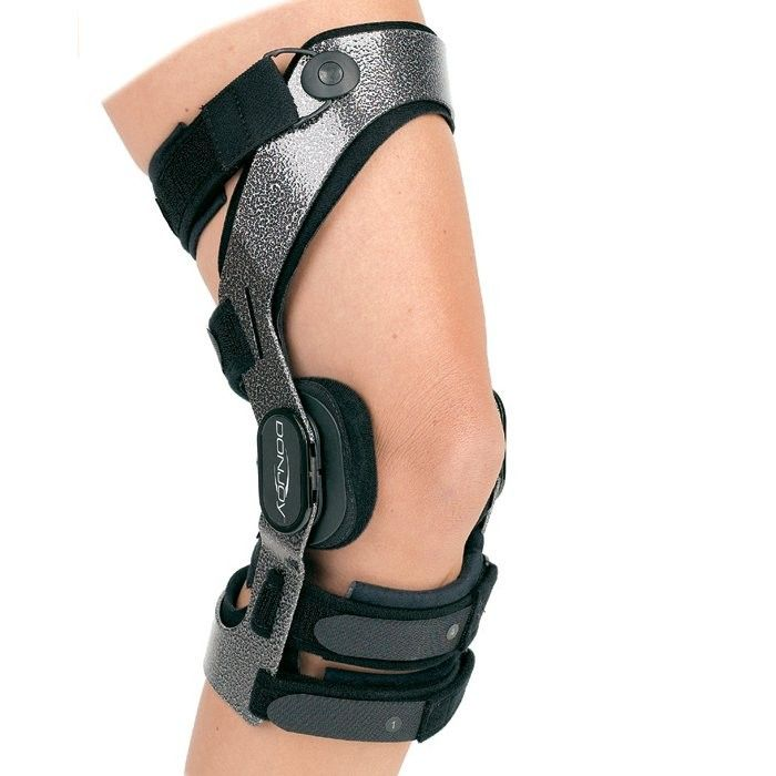 The Donjoy Armor is our #1 football brace. With total ligament protection and a tough frame, it can withstand hard blows to the knee and offers great protection for the ACL, MCL, LCL and PCL as well as provide strong meniscus support.  The DonJoy Armor is by far one of our top selling knee braces during sports season.