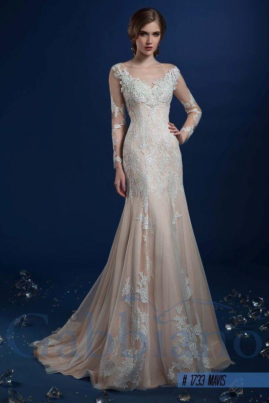 Мавис - Прямые свадебные платья
