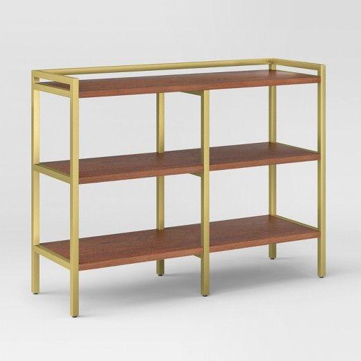 "36"" Antwerp Horizontal Bookcase Walnut - Project 62 ..."