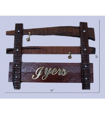 Get best wooden Name Plate online @ lowest price with free shipping in India from krafthub.com