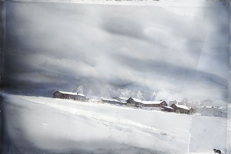 Lars Lerin, Snöbrev