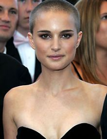Natalie Portman, I love her bald so much it's ridiculous