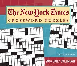 The New York Times Crossword Puzzles 2016 Day To Calendar Edited By